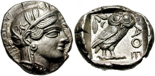 Athina449BC-Moneda Griega